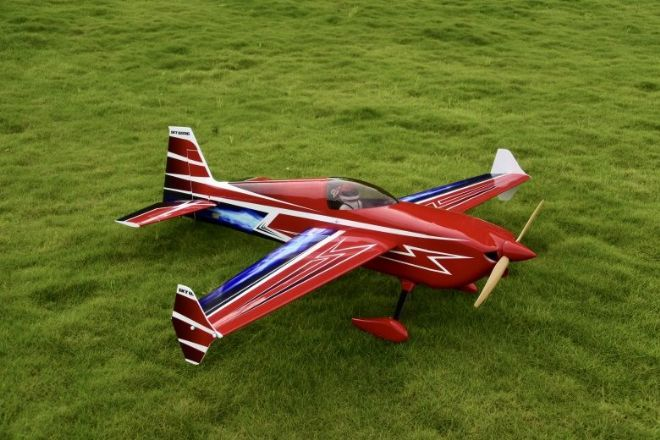 "NEW Skywing 74"" Edge 540 V2-A RED Printed"